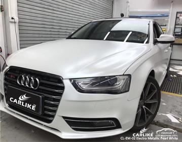 CARLIKE CL-EM-02 электро металлик жемчужно-белый автомобильный винил для Audi