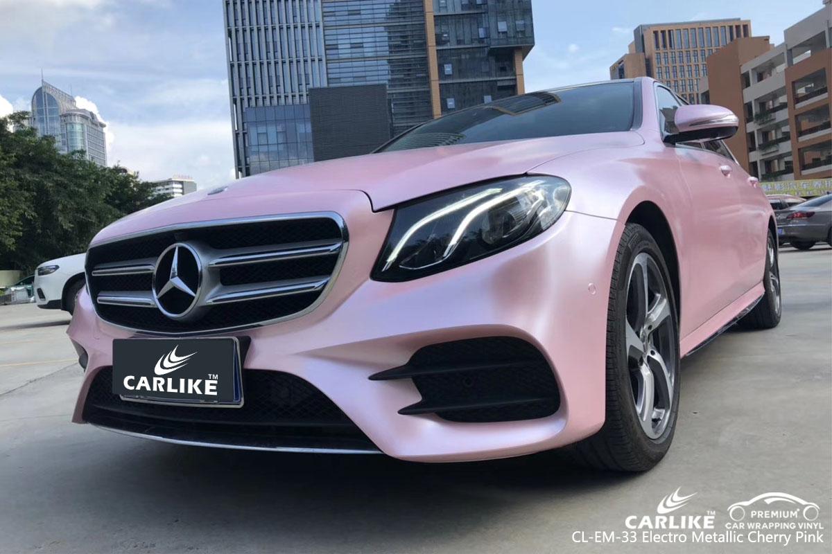 Carlike Cl Em 33 Electro Metallic Cherry Pink Car Wrap