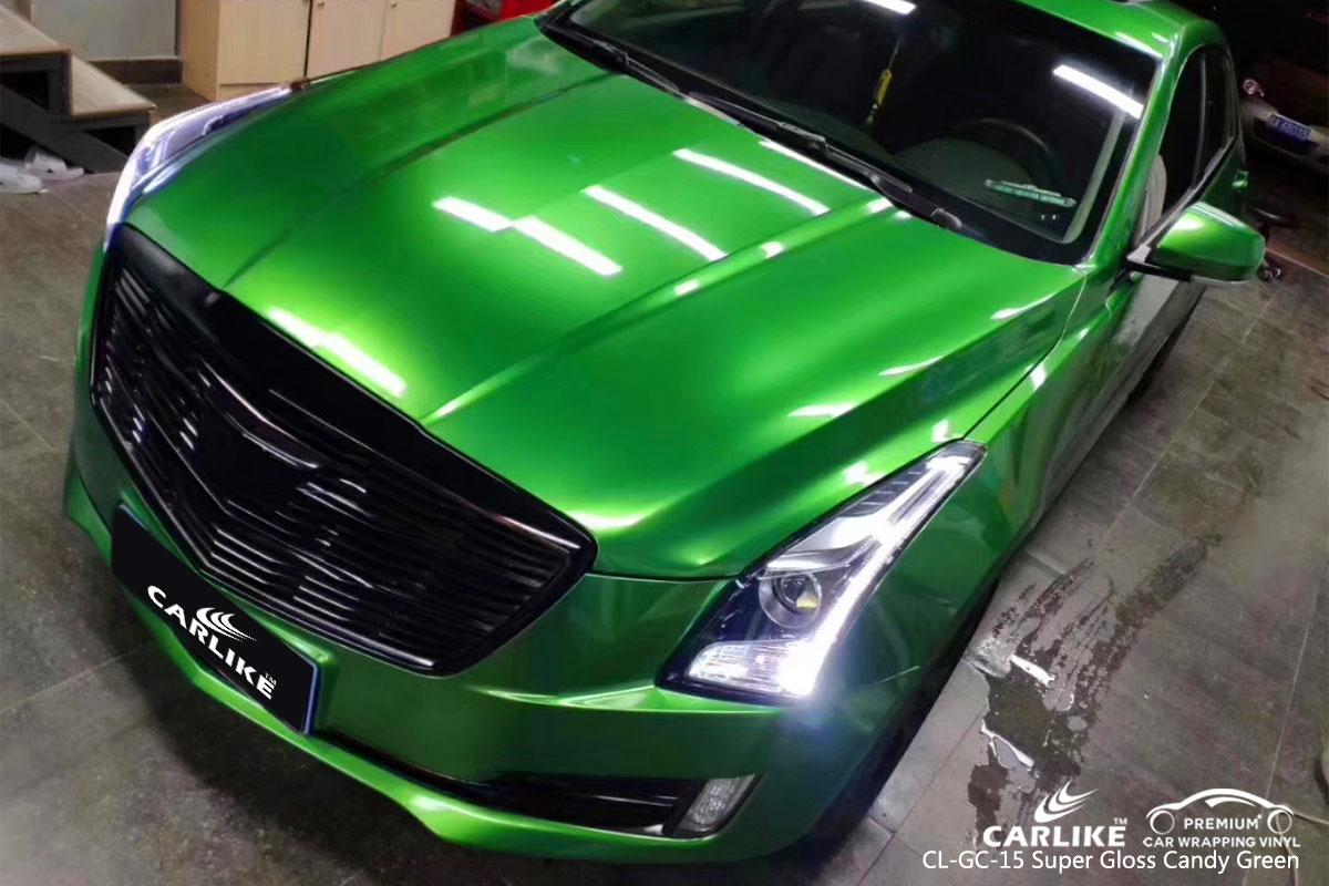 Carlike Cl Gc 15 Super Gloss Candy Green Car Wrap Vinyl
