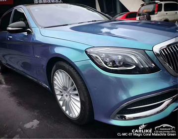 CARLIKE CL-MC-07 magic coral malachite green car wrap vinyl for Mercedes-Benz