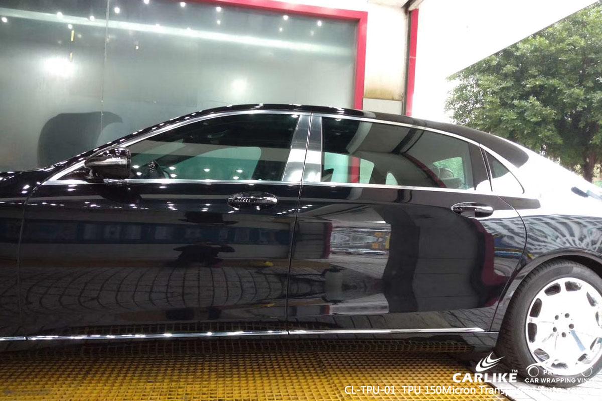 CARLIKE CL-TPU-01 TPU 150 micron transparent auto-repair car wrap vinyl for Maybach
