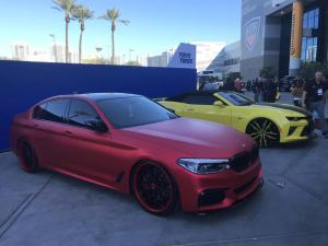 2019 SEMA SHOW DAY 1: SINO GROUP CARLIKE™ Premium+ Car Wrapping Vinyl
