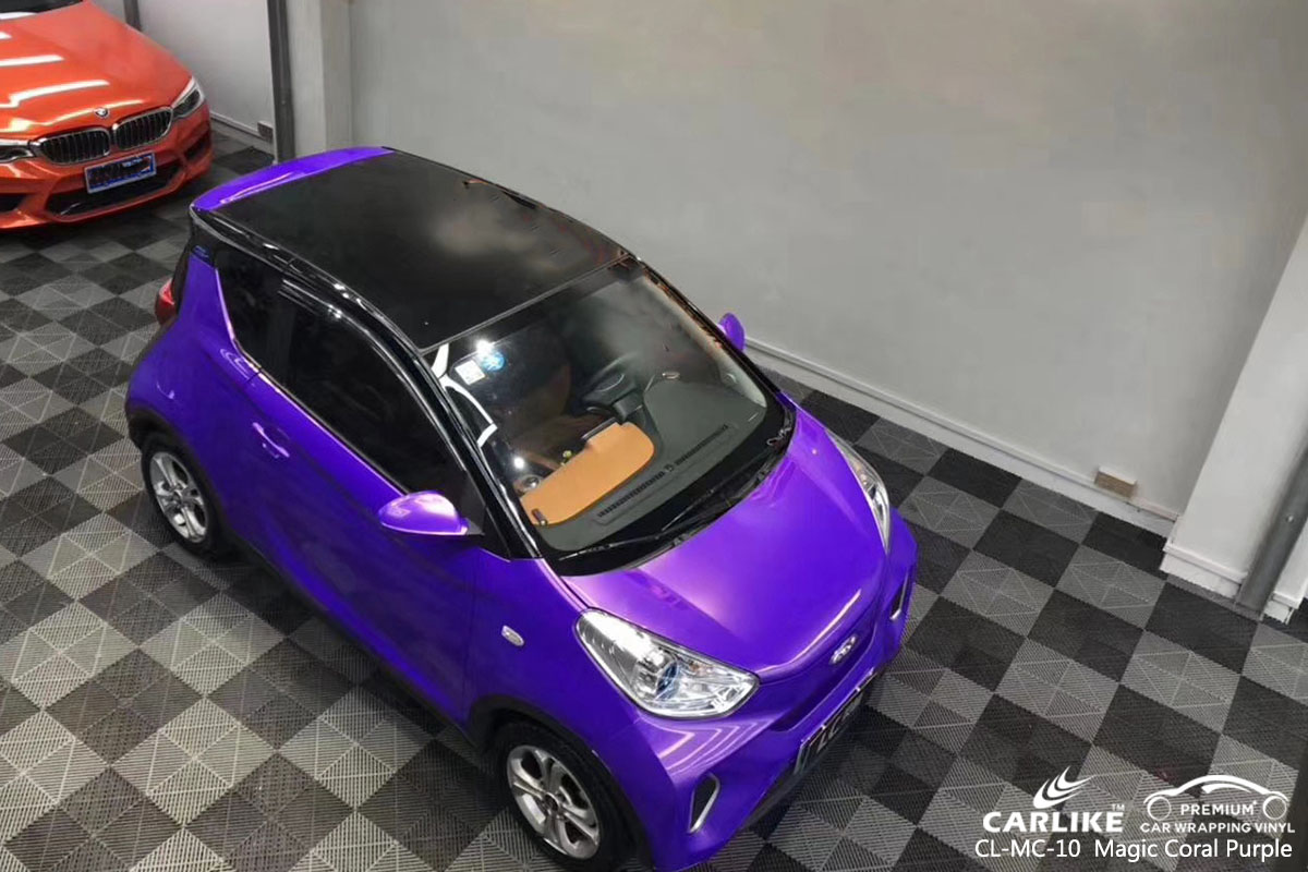 CARLIKE CL-MC-10  Magic Coral Purple car wrap vinyl for Chery