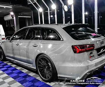 CARLIKE CL-TPU-01 TPU Gloss Paint Protection Film for Audi