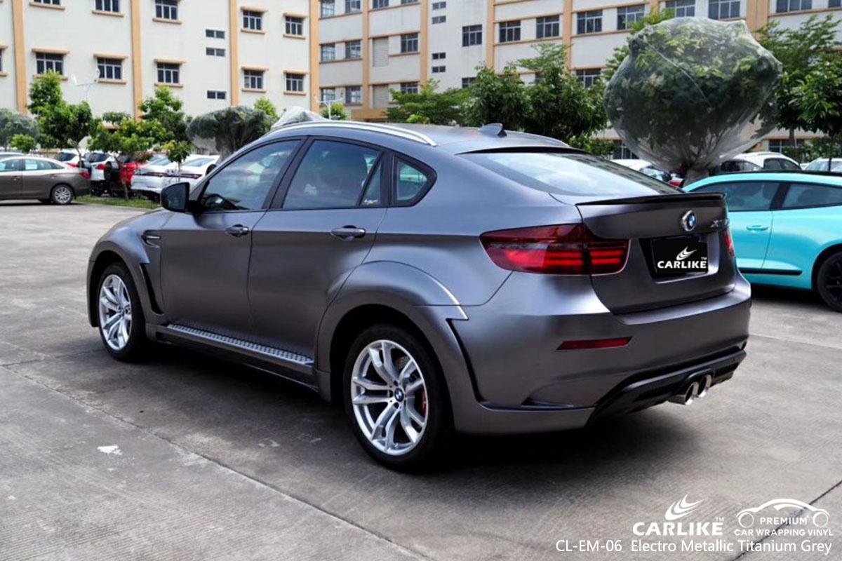 CL-EM-06 Electro Metallic Titanium Grey автомобильная пленка для BMW