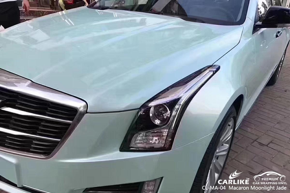 CL-MA-04 Macaron Moonlight Jade car wrap vinyl for Cadillac