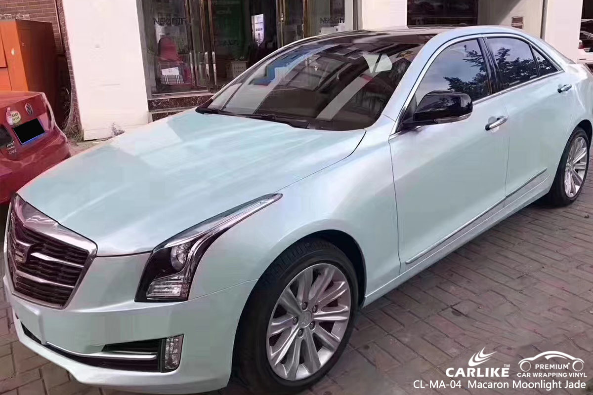 CL-MA-04 Macaron Moonlight Jade автомобильная пленка для Cadillac
