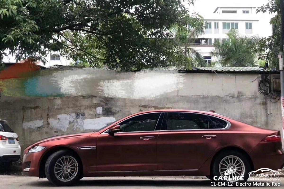 CL-EM-12 Electro Metallic Red автомобильная виниловая пленка для Jaguar