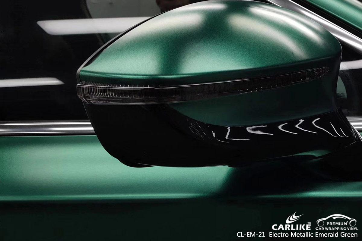 CL-EM-21 Electro Metallic Emerald Green car wrap vinyl