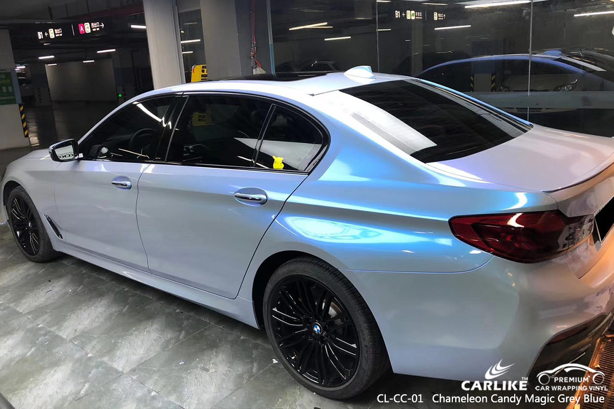 CL-CC-01 chameleon candy magic grey blue auto wrap my car for BMW Congo - Brazzaville