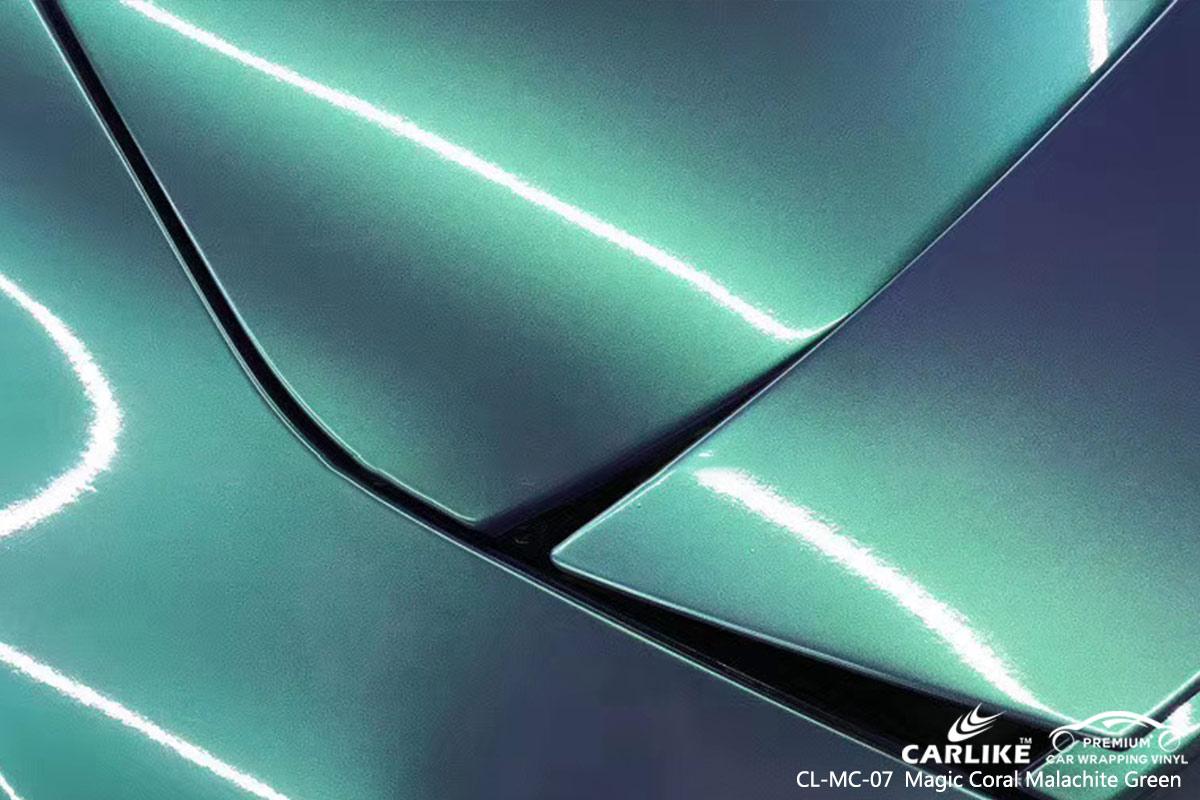 CL-MC-07 magic coral malachite green car wrap vinyl for AUDI
