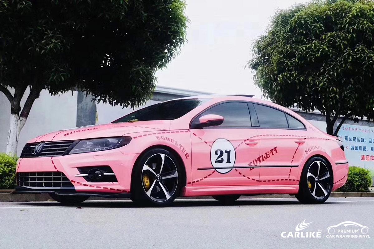 CL-BS printed bomb sticker car wrap vinyl for VOLKSWAGEN
