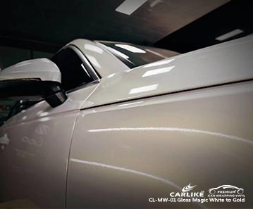 CL-MW-01 glänzend magisch weiß bis gold Karosserieverpackung Autozulieferer für AUDI Französisch-Guayana