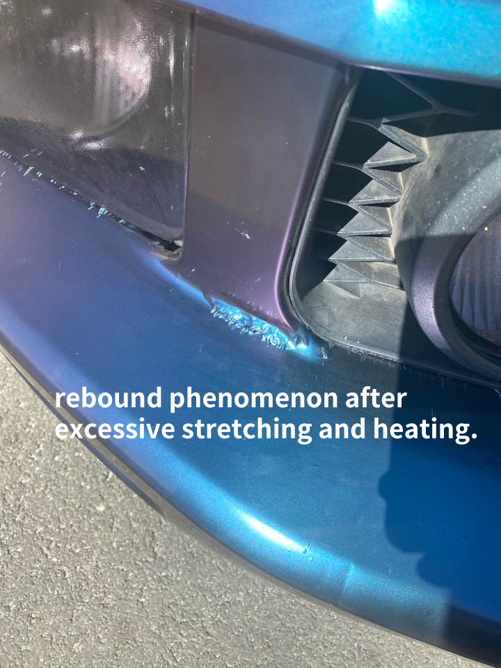 Car Vinyl Wrap Tips Ⅱ: How to complete a perfect film for your car?
