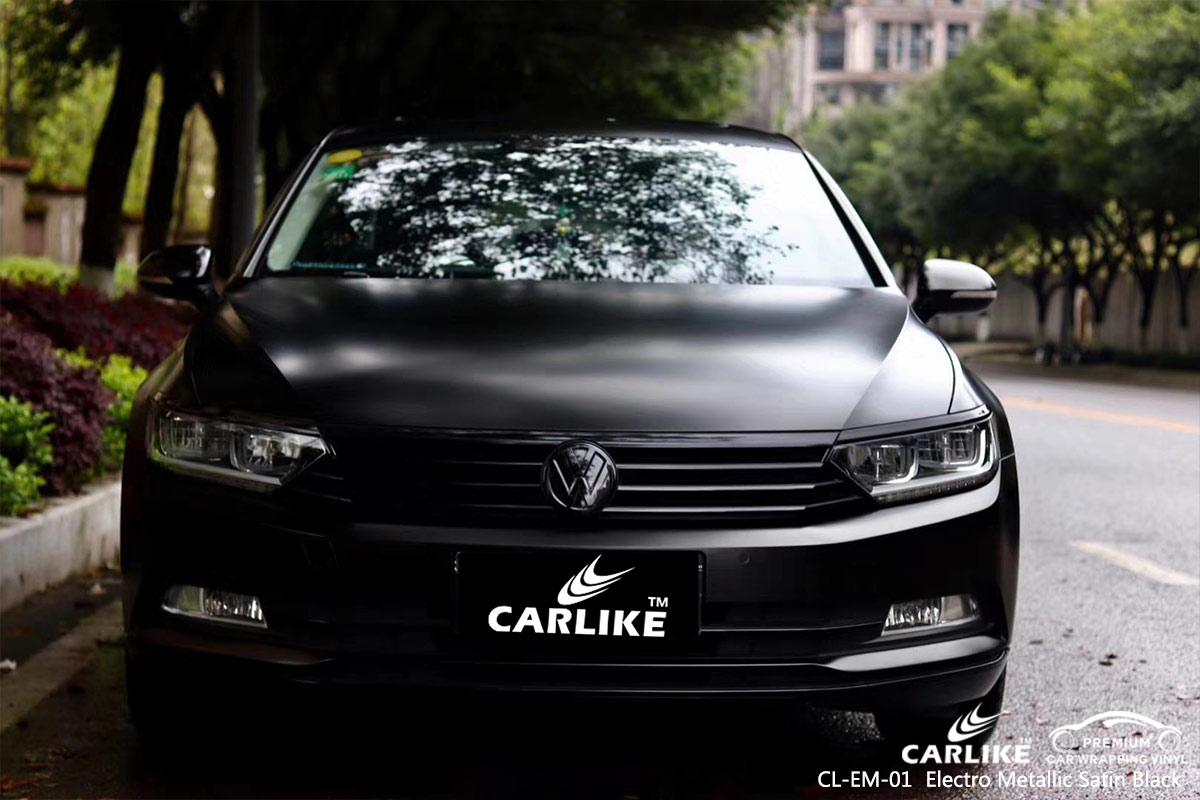 CL-EM-01 electro metallic satin black wrap car black matt for VOLKSWAGEN Bilecik Turkey