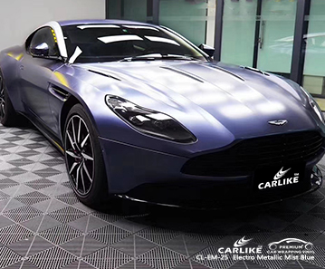 CL-EM-25 electro metallic mist blue wrap car foil for ASTON MARTIN Mandaluyong