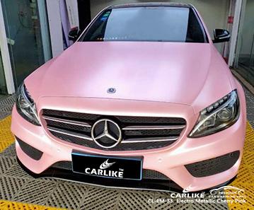 CL-EM-33 электро металлик вишнево-розовая автомобильная пленка виниловая матовая для MERCEDES-BENZ Tarlac Филиппины