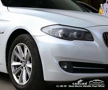CL-GE-03 глянцевая электро-металлическая жемчужно-белая автомобильная упаковка для BMW Taytay Филиппины