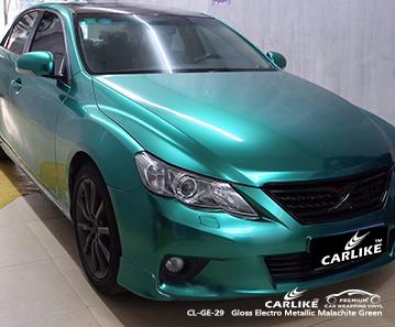 CL-GE-29 involucro auto verde elettrolitico lucido malachite per TOYOTA Bacolod Filippine