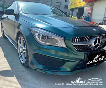 CL-GE-33 глянцевая электро-металлическая каменно-зеленая пленка для автомобилей MERCEDES-BENZ Iligan Филиппины