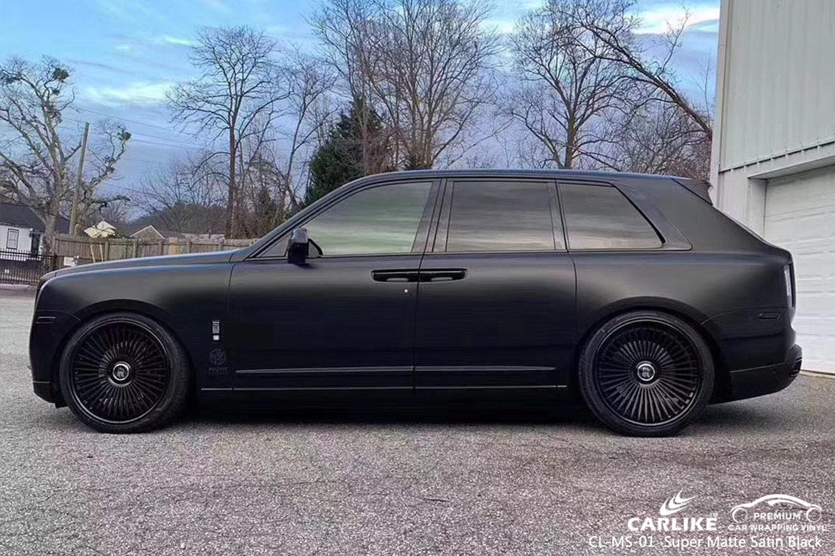 CL-MS-01 super matte satin black wrap my car for VOLKSWAGEN Aydin Turkey