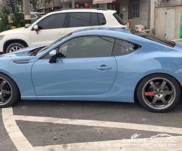 CL-SV-40 супер глянцевый кристалл фарфора синий автомобиль виниловые пленки для SUBARU Cabanatuan Филиппины
