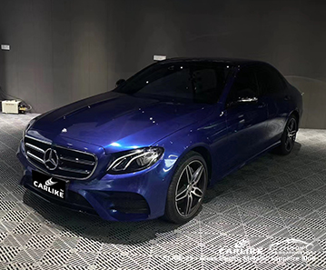CL-GE-25 gloss electro metallic sapphire blue vinyl wrap gloss for MERCEDES-BENZ Hawaii United States