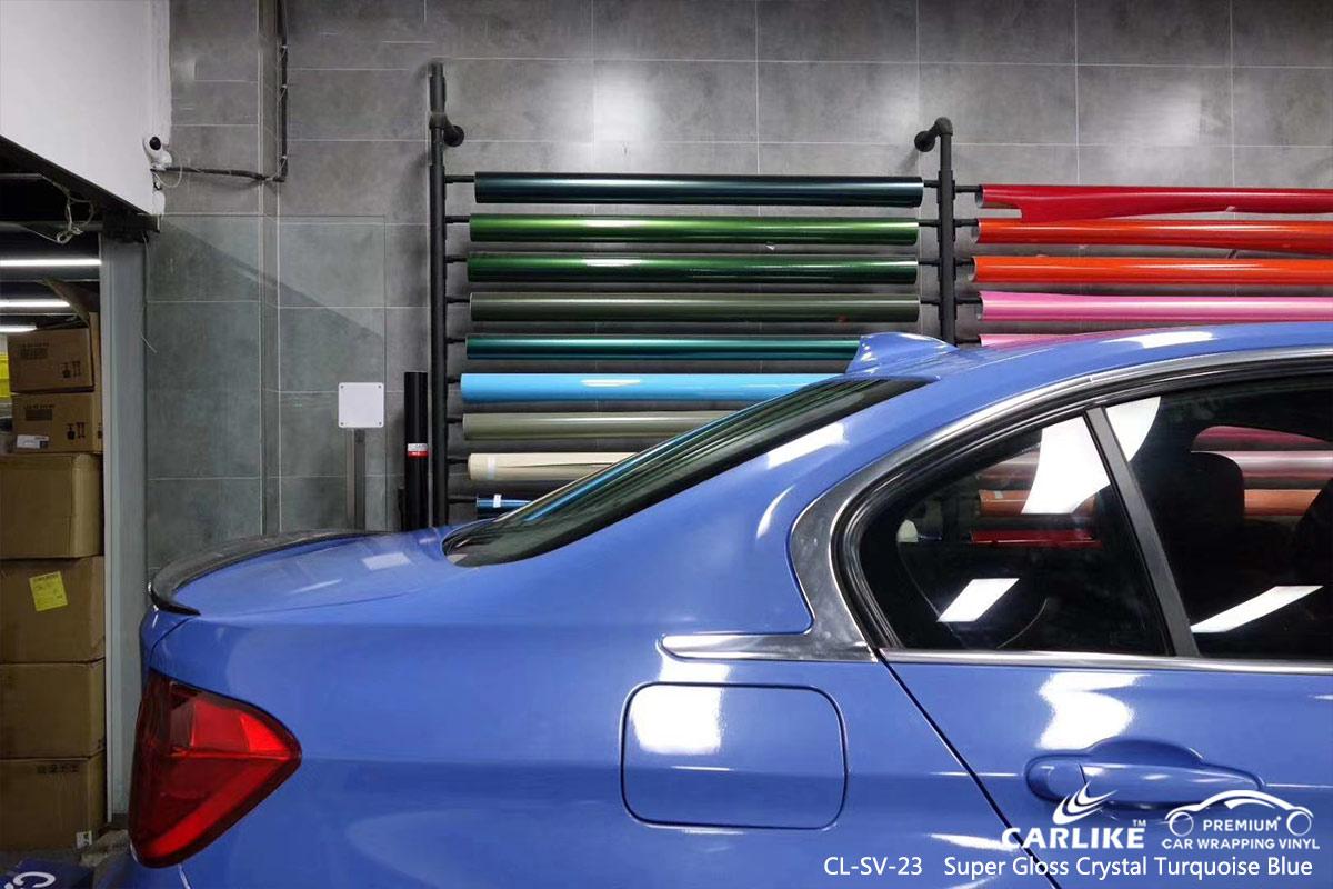 CL-SV-23 super gloss crystal turquoise blue car foil for BMW Mississippi United States