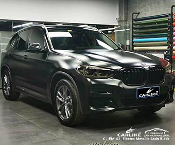 CL-EM-01 رقائق معدنية سوداء لامع للسيارة لسيارات BMW Adiyaman Turkey
