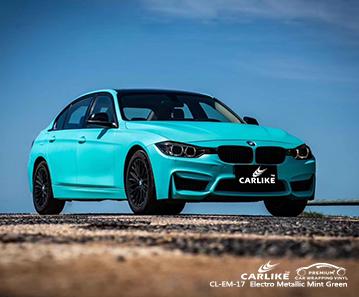 Elektrometallische mintgrüne Motorrollerfolie CL-EM-17 für BMW Van Turkey