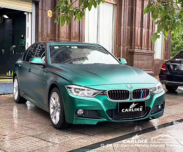Pellicola per auto da barca verde smeraldo elettro metallizzato CL-EM-21 per BMW Sanliurfa Turchia