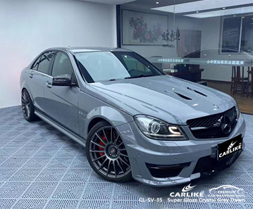 CL-SV-35 super gloss crystal grey dawn moto vinyl sticker paper for MERCEDES-BENZ Rize Turkey