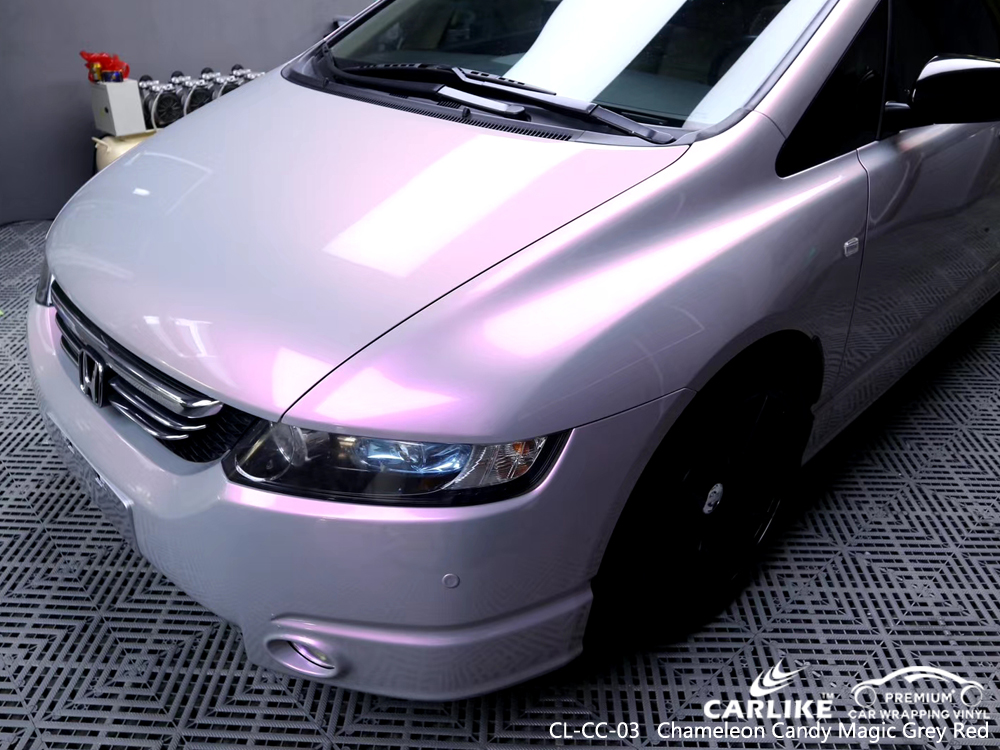 CL-CC-03 chameleon candy magic grey red protective vinyl for cars for HONDA Kuala Lumpur Malaysia