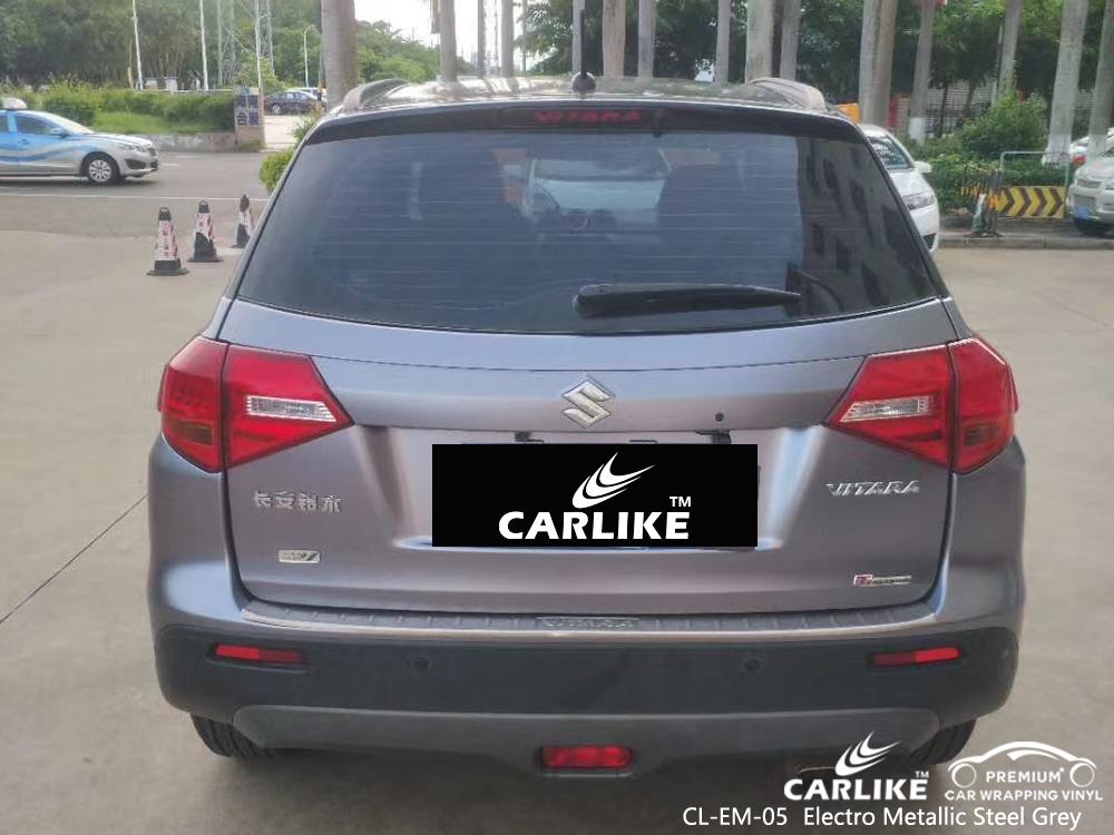 CL-EM-05 electro metallic steel grey vinyl sticker paper for SUZUKI Federal Territory Malaysia