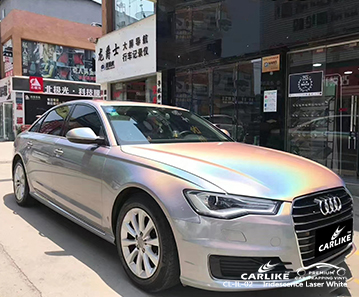 CL-IL-02 iridescence laser white car wrap film for AUDI Gauteng South Africa