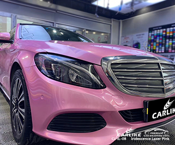 CL-IL-08 iridescence laser pink vinyl material suppliers for MERCEDES-BENZ Free State South Africa