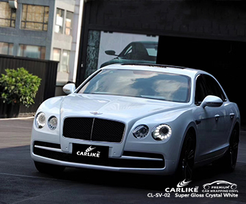 CL-SV-02 super gloss crystal white autobike car wrap gloss for BENTLEY Eastern Cape South Africa