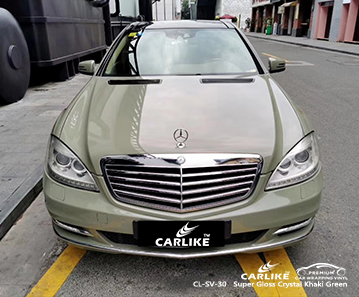 CL-SV-30 super gloss crystal khaki green vinyl wrap gloss for MERCEDES-BENZ KwaZulu-Natal South Africa