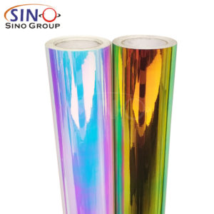 Chrome Rainbow Colorful Self Adhesive Holographic Film DIY Craft Cricut Cutting Vinyl