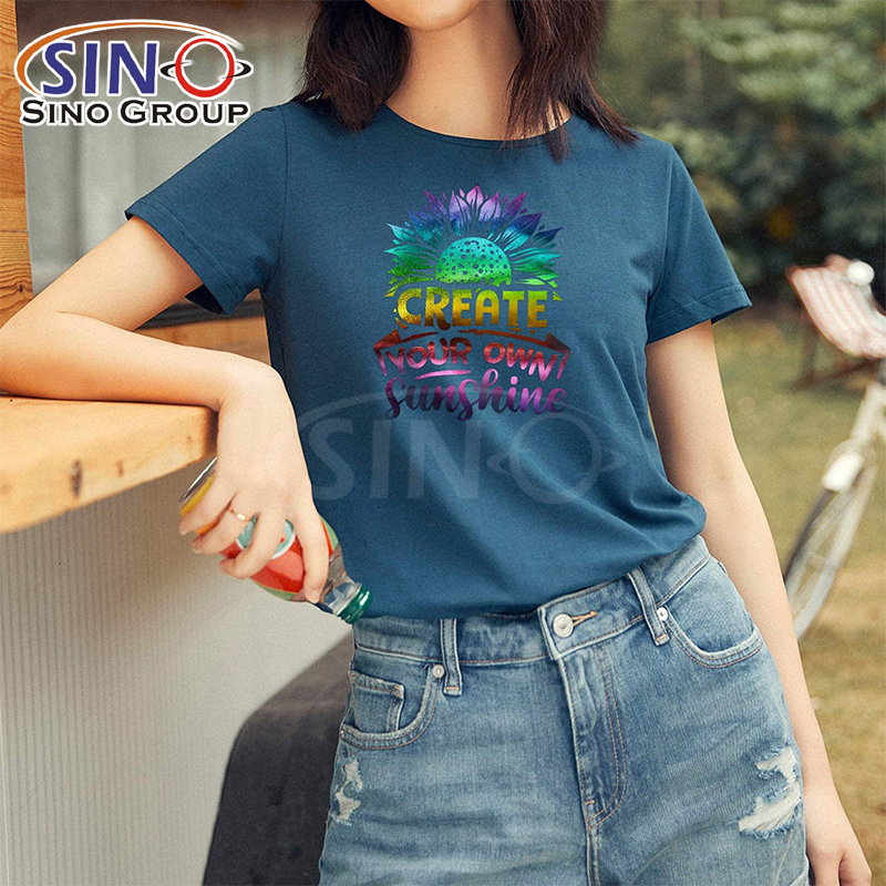 Holographic Rainbow Colorful Heat Transfer Vinyl Cutter Cricut Iron On for Clothing Textile