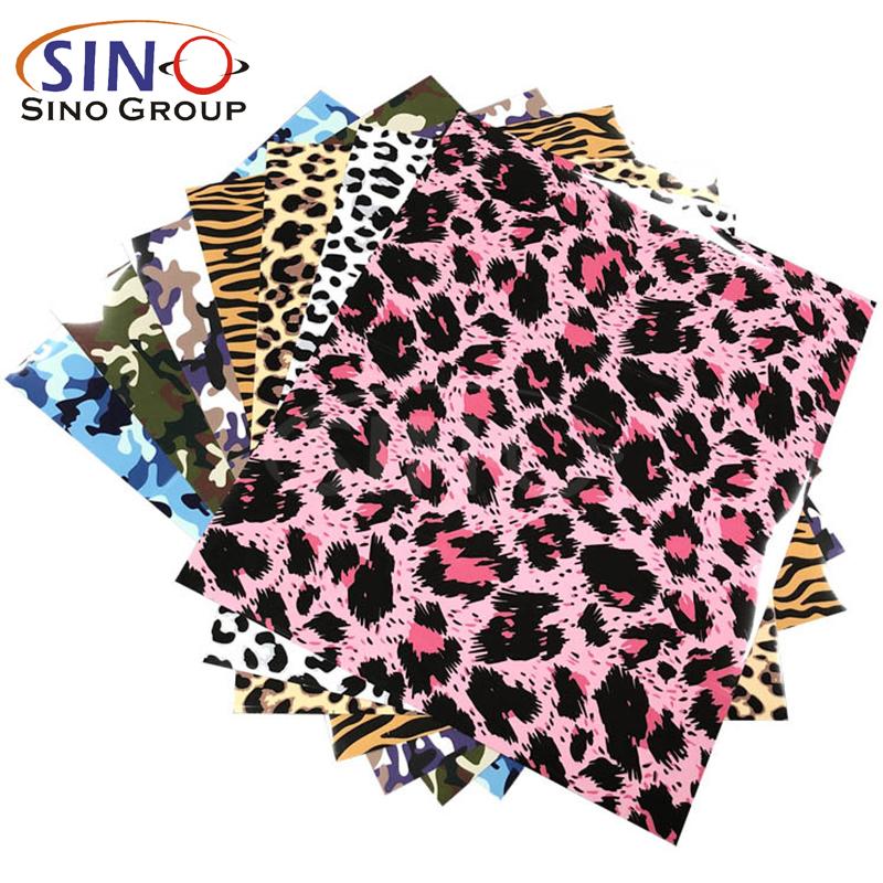 Tierhaut-Ledermuster Wärmeübertragungs vinyl-textil