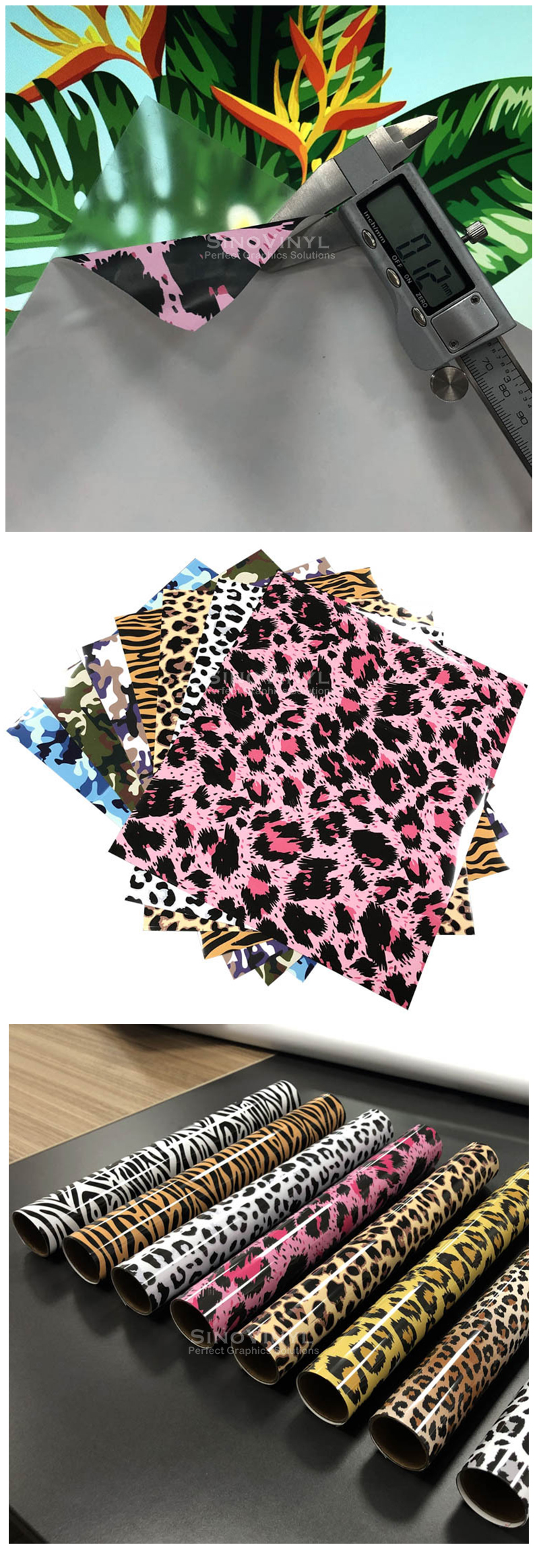 Camouflage Heat Transfer Vinyl Textile HTV for T-shirt