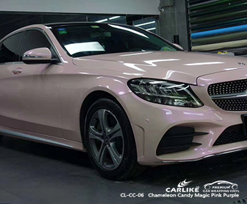 CL-CC-06 chameleon candy magic pink purple vinyl sticker paper for MERCEDES-BENZ Isle of Man United Kingdom