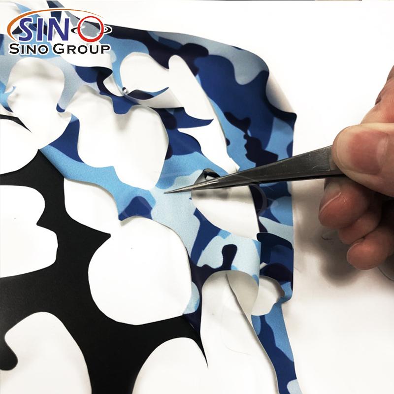 Camouflage Heat Transfer Vinyl Textil HTV für T-Shirt