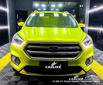 CL-EM-15 emballage de voiture jaune fluorescent électro-métallique pour FORD Pennsylvania United States