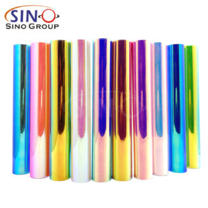 New Arrival : Chrome Rainbow DIY Craft Cricut Die Cutting Vinyl Film