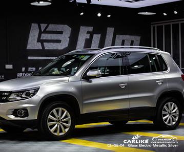 CL-GE-04 brillo para revestimiento de coche plateado electro metálico brillante para VOLKSWAGEN Olongapo Filipinas