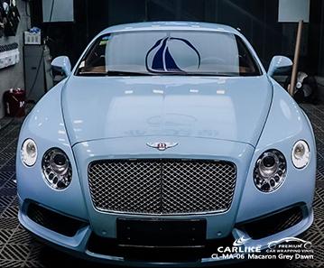 CL-MA-06 feuille de voiture de l'aube gris macaron pour Bentley Bacolod Philippines