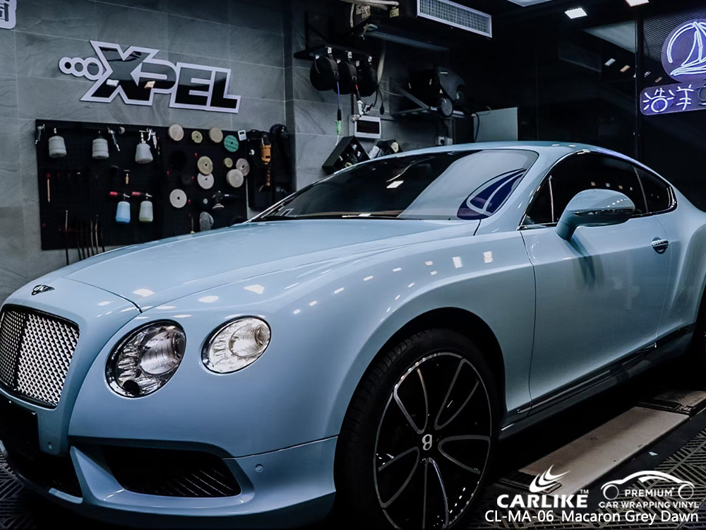 CL-MA-06 macaron grey dawn car foil for BENTLEY Bacolod Philippines