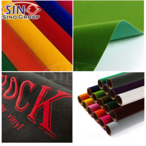 Flock Velvet Suede Fabric Heat Transfer Vinyl Textile Wholesale Cricut Iron On Cutting